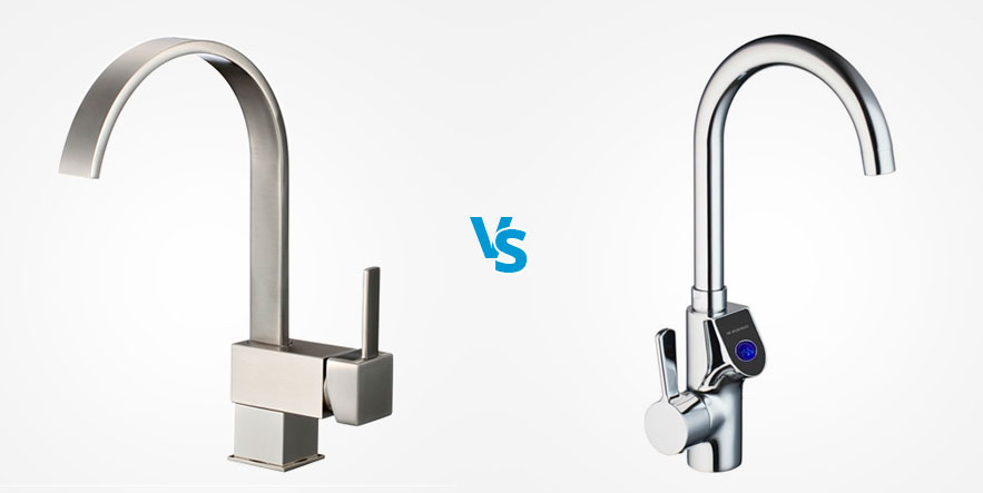 Brushed Nickel Vs Chrome Learn The Difference Choose Right Faucet Finish