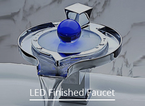 Water Fall LED Bathroom Faucets