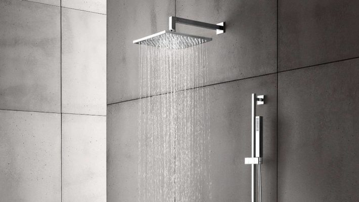Wall Or Ceiling Mounted Shower Heads