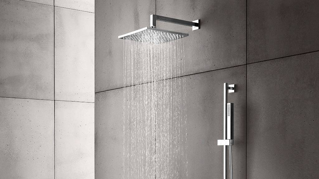 Wall Or Ceiling Mounted Shower Heads Bathselect Blog