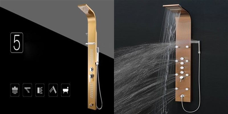 Fontana Aluminum Shower Panel Bathselect Blog