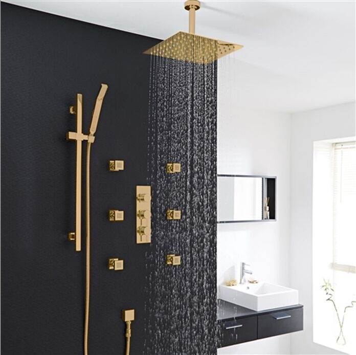 Installation Instructions For Shower With Body Jets