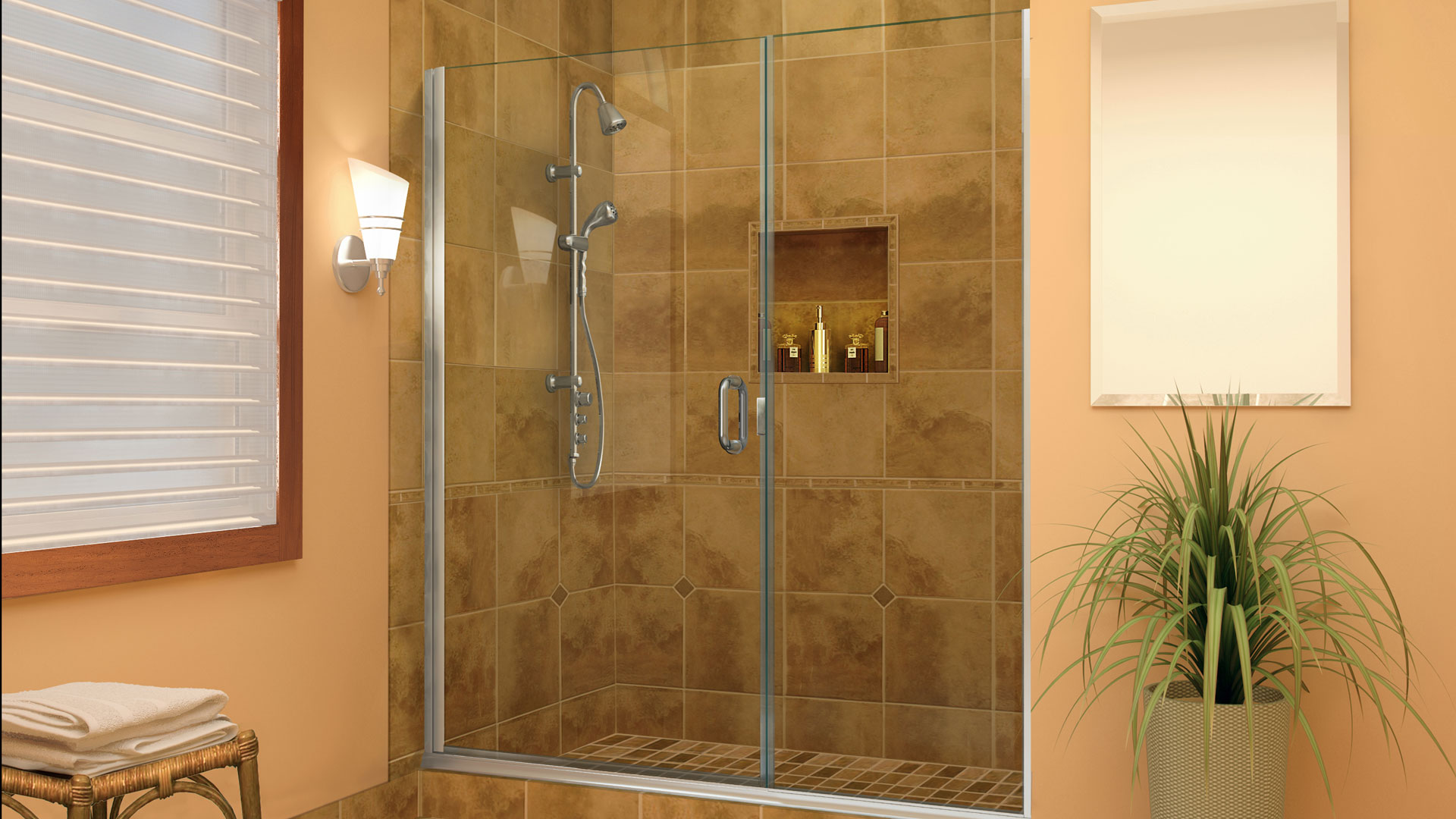 Shower Curtain Vs Glass Enclosures Which One Is For You