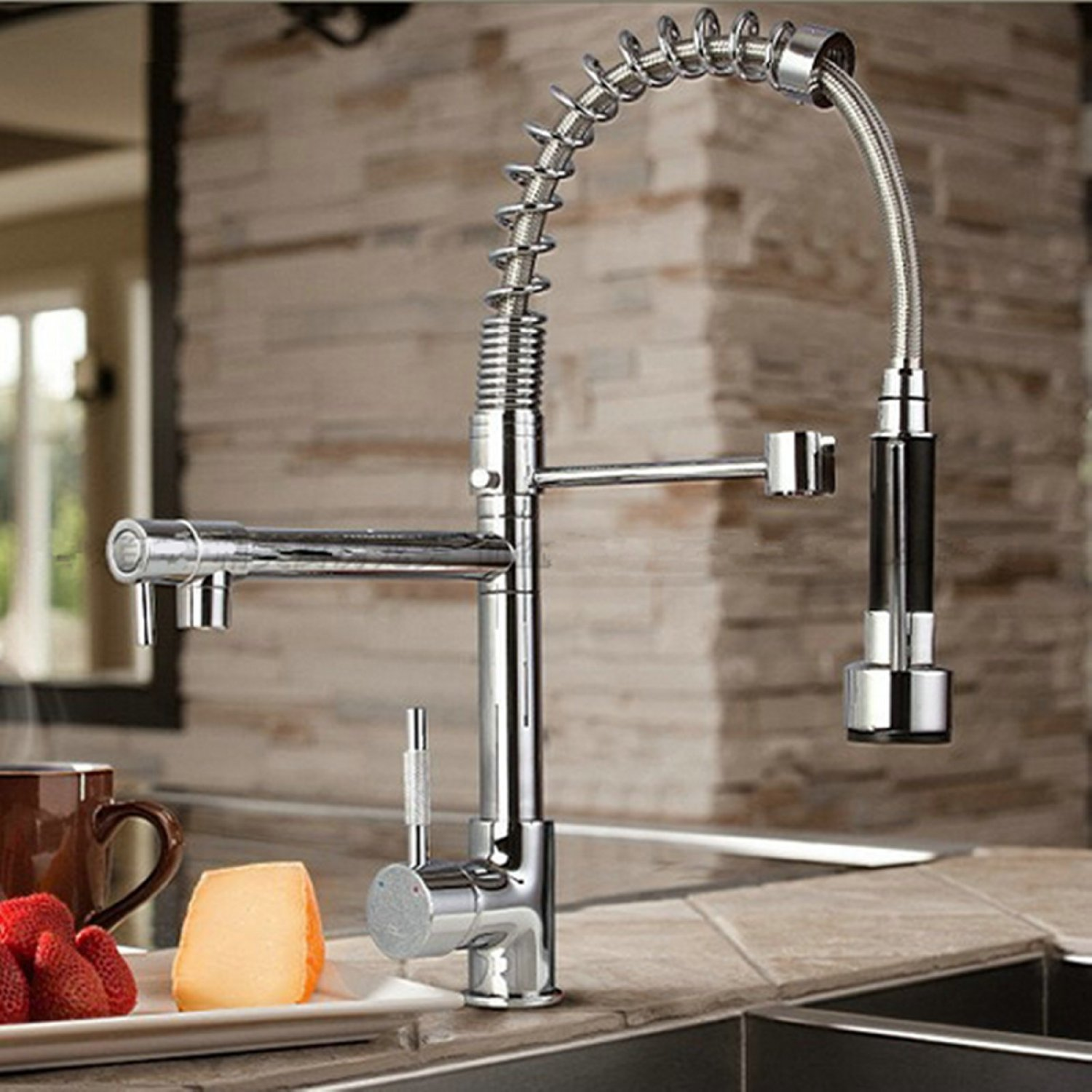 Lavatory Faucet With Sprayer Home Design Ideas