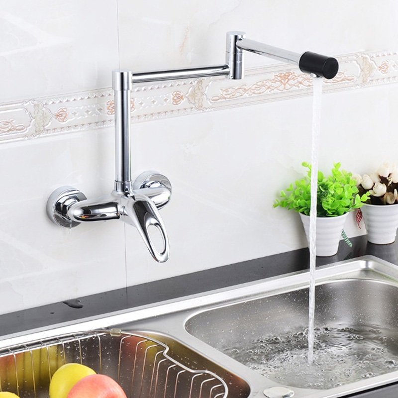 Commercial Kitchen Faucets Wall Mounted